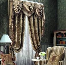 凯撒/台湾凯撒窗帘3817系列欧式高级植绒豪华厚窗帘市场价:785.00...