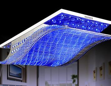 长方形欧式吊灯