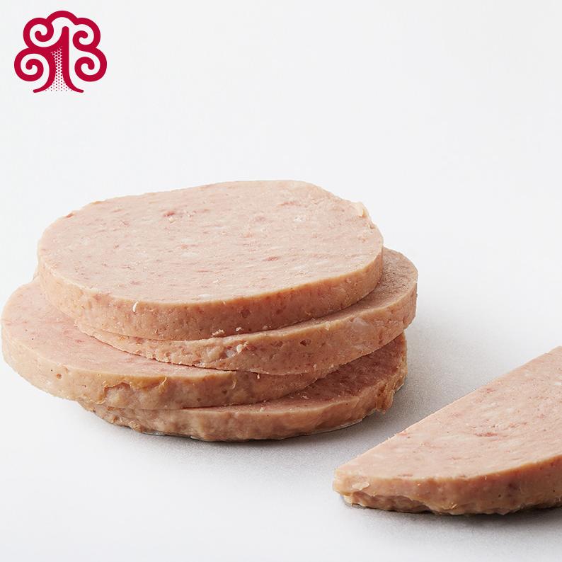17年新货梅林午餐肉罐头397g5罐装上海特产火腿罐头火锅泡面配料