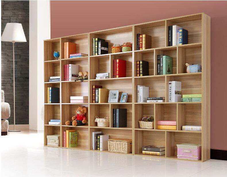 廖氏家具自由组合非实木书柜子储物柜儿童简易书架简约现代可带门图片