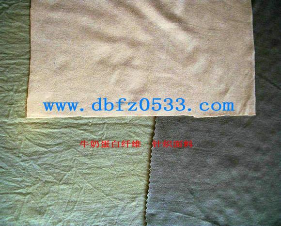 牛奶蛋白纤维:针织面料