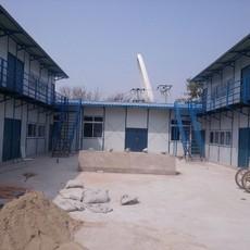 天津塘沽祈虹彩钢厂家直销工地低价彩钢活动房