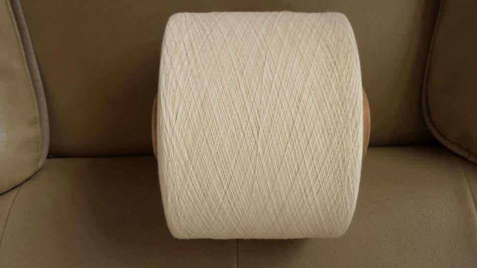 各种配比气流纺再生涤棉纱21支 涤棉混纺纱