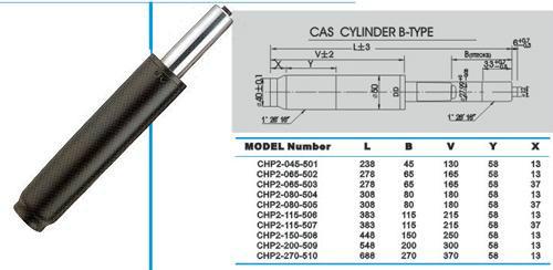 区骏马气压件厂提供的专业生产yq气弹簧支撑杆 压缩气弹簧 液压撑杆图片