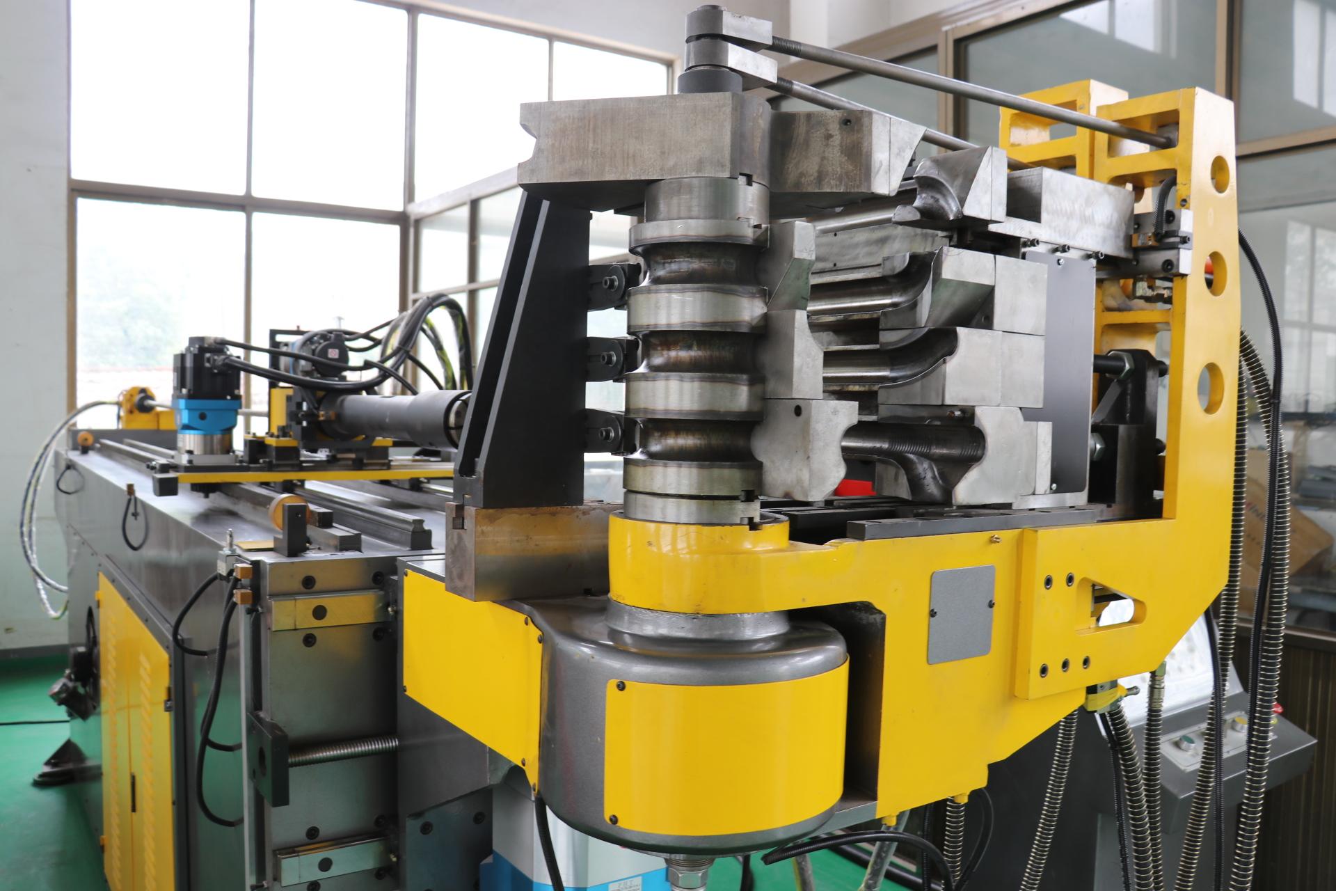 道尔顿DW50CNC-5AX5S全自动弯管机 三维立体弯管机 五轴全自动弯管机