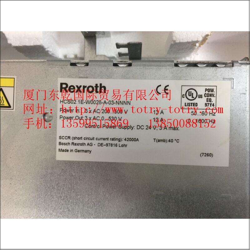 供应力士乐放大器 HCS02.1E-W0028-A-03-NNNN R911298374 等系列型号