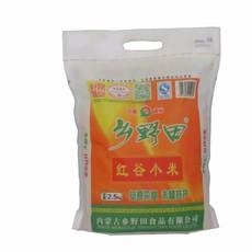 内蒙古特产赤峰杂粮乡野田红谷米 月子米 熬粥焖饭农家小米 2.5kg