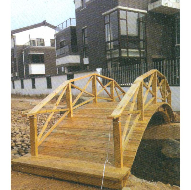 防腐木拱桥