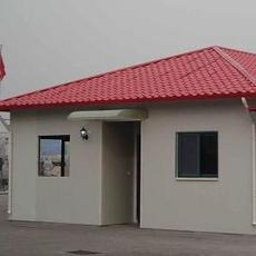 河北承德安装搭建彩钢活动房岩棉防火工地用彩钢房