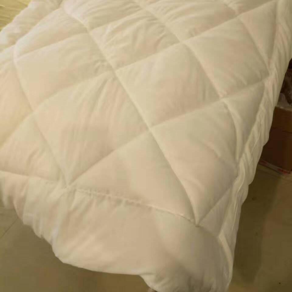 供应纯棉三件套 新疆棉花磨毛被芯 新疆棉花磨毛被垫 枕芯 中高档幼儿园首选