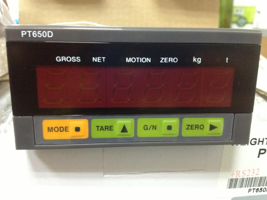 PT650D+4-20ma模擬量稱重儀表