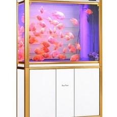 水族箱玻璃鱼缸长方形中型鱼缸生态底过滤鱼缸免换水HLX