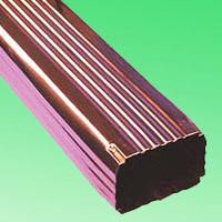 落水系统订购 pvc彩色落水系统  pvc檐沟生产