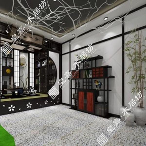 沈阳雅枫皇嘉木居坊传统日式风格成套家居图片