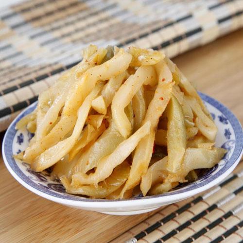 重庆特产【涪陵辣妹子榨菜 】 下饭菜 60g原味榨菜丝