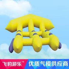 飞豹游乐FY水上漂浮物 卡通水上飞鱼 水上乐园组合充气水上飞鱼
