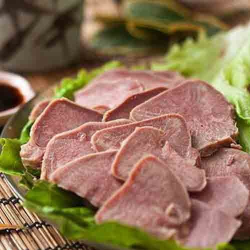 新鲜猪舌头生猪舌头1只约200g     舌尖上的美味无舌根