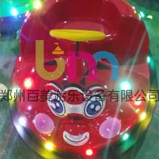 湖南郴州双人游乐甲壳虫电动碰碰车订购信赖百美厂家