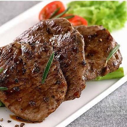 天玛生物 黑胡椒味牦牛排肉 新鲜冷冻厚切牛扒 生鲜调理腌制