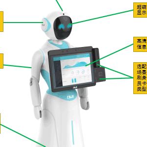 智能展会服务机器人