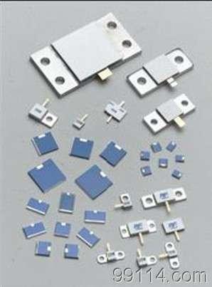 昆明大功率终端负载射频电阻-微波衰减器芯片 18ghz