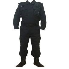 99夏款保安套装长袖 保安套装长袖 批发军训服 机场安检服 作战服短袖套装