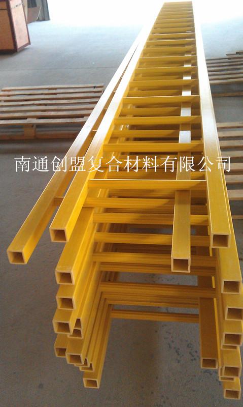 玻璃钢爬梯 玻璃钢笼梯