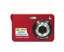 供应 1800万像素卡片数码相机家用礼品儿童照相机