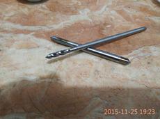 加长粉末钢M9x1.25螺旋/先端丝攻