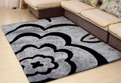 简约现代家用地毯图案客厅茶几地毯欧式长方形卧室满铺地毯