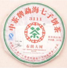 供应 中茶牌 2007年 布朗大树3111 勐海生茶 云南普洱茶 实体店直销