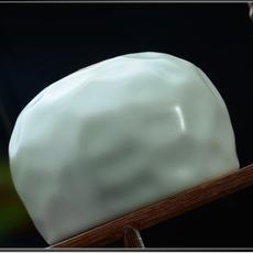 大茶杯汝窑陶瓷品茗杯普洱茶钧瓷大号茶盏单杯开片主人杯茶碗