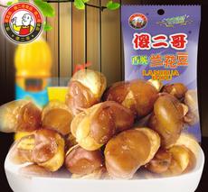 供应 兰花豆批发傻二哥兰花豆五香味35g 100包 箱食品厂家 生产直销