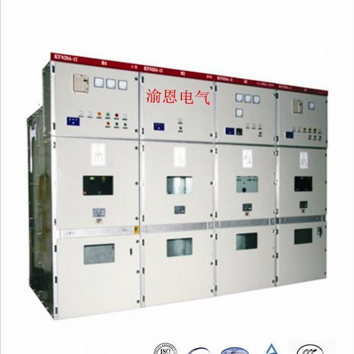 KYN28A-12铠装移开式户内交流金属封闭开关柜(10kV)