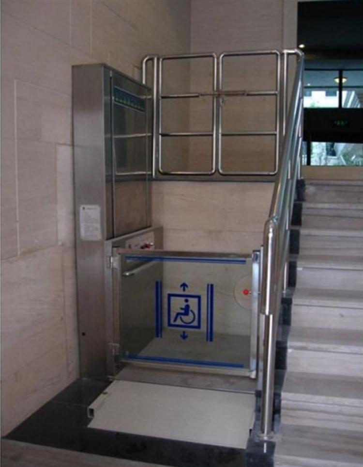 残疾人无障碍升降机液压升降平台别墅专用电梯小型升降机轮椅平台图片