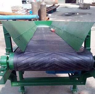 供应 粮食专用 装卸货爬坡输送机 袋装大米运输机