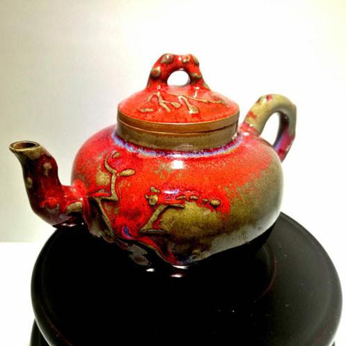 钧瓷茶具--豫鼎钧窑近代精品异国情调创意茶具