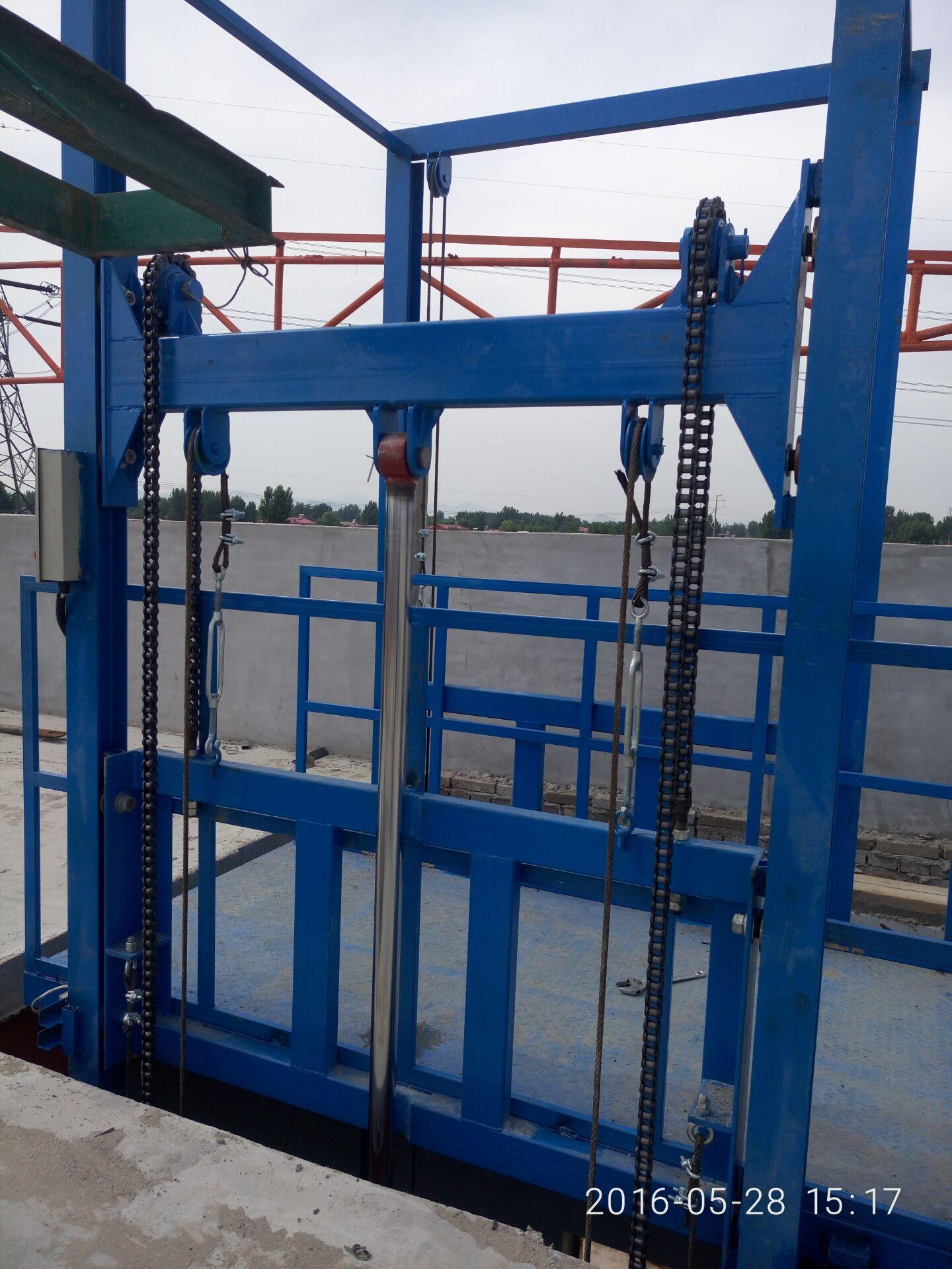 供应导轨式升降机液压升降平台导轨式升降货梯图片