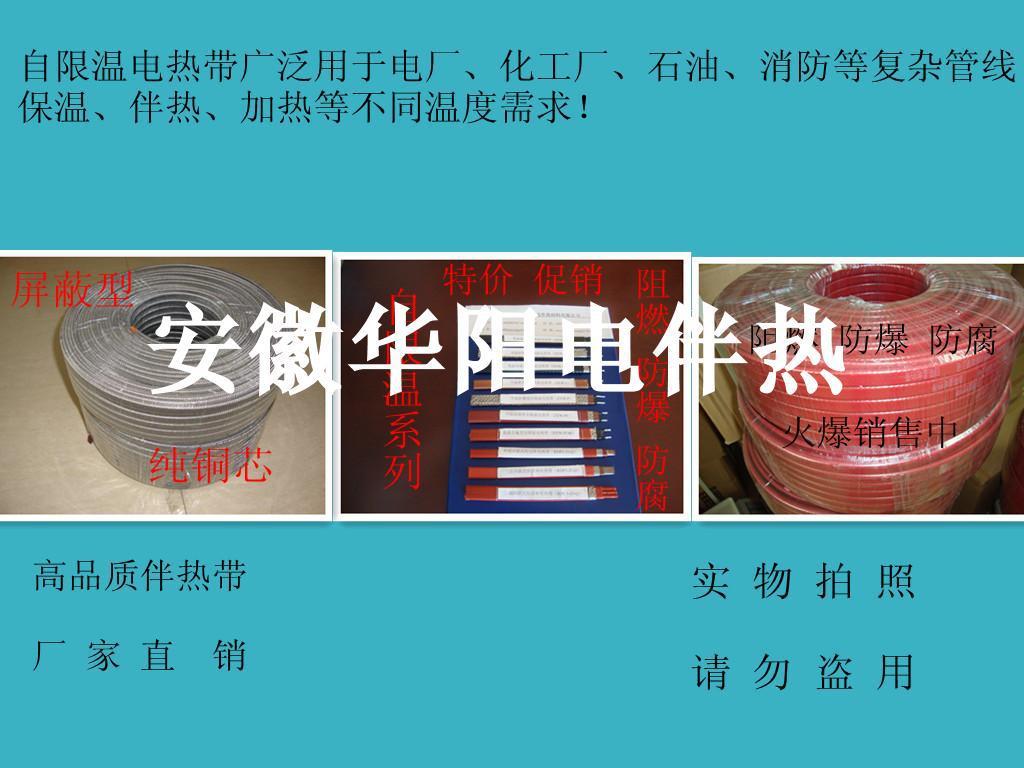 安徽华阳供应电厂专用电热带烟气采样管 伴热电缆