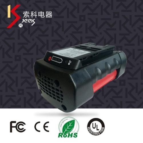 经销供应高质量36V3.0Ah4.0Ah锂电池组动力电池包电动工具电池