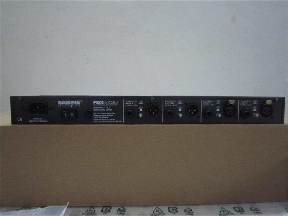 反馈抑制移频器赛宾FBX2420全自动KTV会议话筒防啸叫抑制器零啸叫