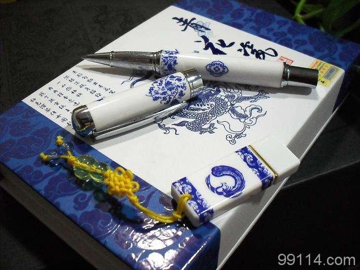 北京青花瓷笔 北京青花瓷名片盒 北京青花瓷鼠标 北京青花瓷钥匙扣