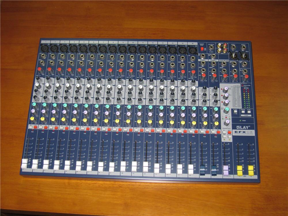 Soundcraft 声艺6EFX16 16路通道带效果专业调音台 原装进口部件