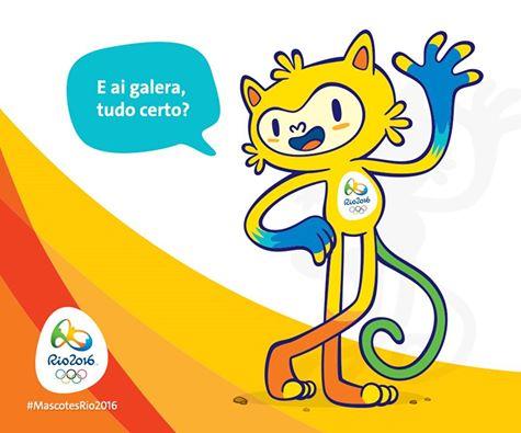 2016里约奥运会吉祥物维尼休斯汤姆 毛绒玩具公仔挂件图片