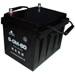 新太电池牌12V60AH铁路客车照明用免维护铅酸蓄电池
