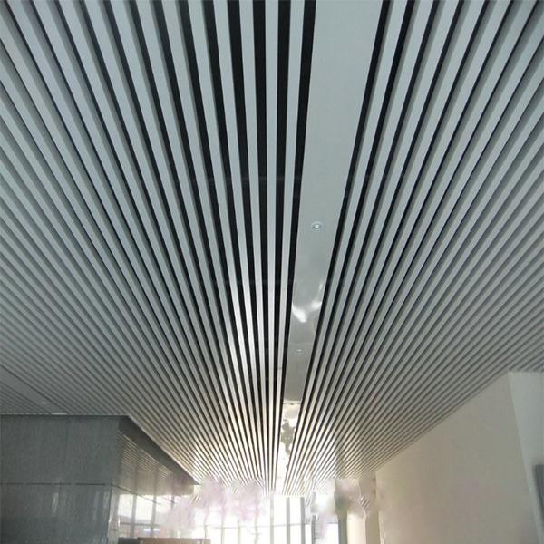 铝天花铝方通吊顶 U型铝方通