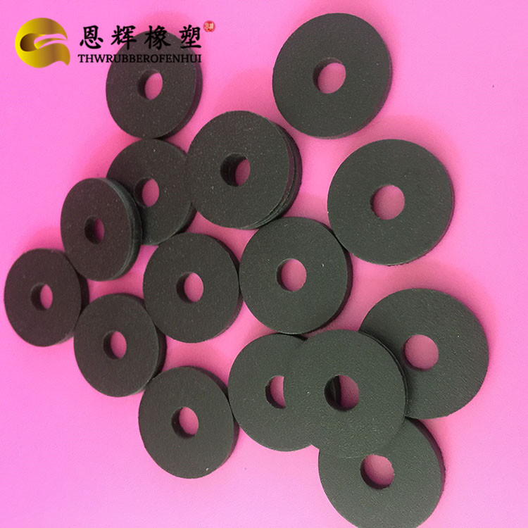 黑色PP塑料绝缘垫片M3 M8  机械密封垫非石棉垫圈 耐高温石棉垫片