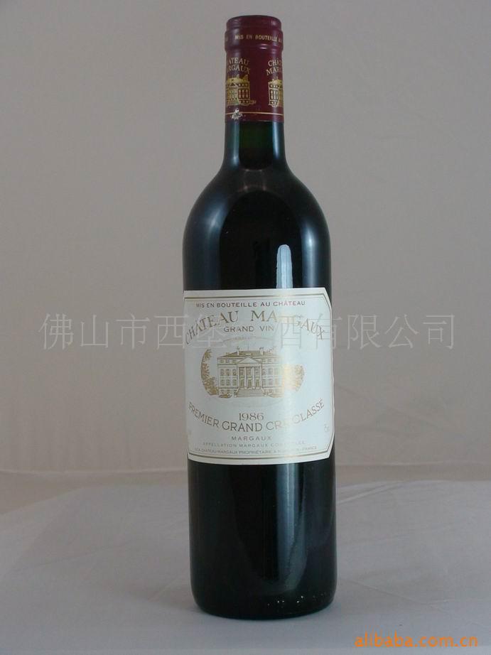 100%进口红酒 供应1986 玛歌庄园红葡萄酒 红酒加盟