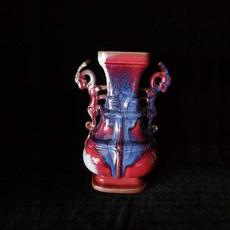 双龙尊,高30厘米,宽21厘米,异国风情 礼品 结婚 收藏 精品摆件