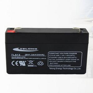 供应 6V1.3AH电子秤/摄像机电池/对讲机/应急灯铅酸蓄电池